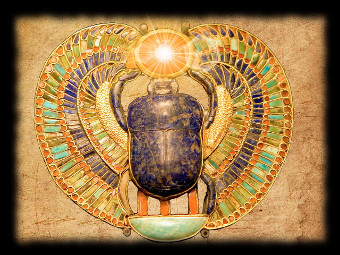 egyptian beetle welcome
